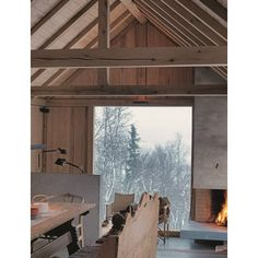 A COZY WINTER CABIN IN NORWAY ❤ liked on Polyvore featuring backgrounds, home, other, photography and filler
