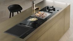 Smartline - NEW 2017 Miele individual hobs & inline extraction