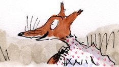 Roald Dahl's Fantastic Mr Fox features three horrid farmers - Boggis, Bunce and Bean - who really hate cunning Mr Fox. Roald Dahl Books, Fantastic Mr Fox, Curious Creatures, Rooster, Beast, Disney Characters, Fictional Characters, Animals, Reading Projects