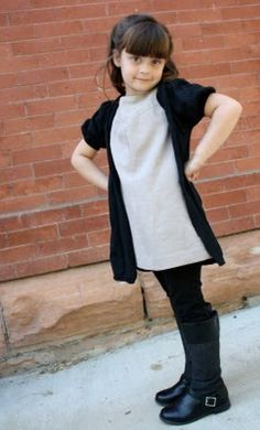 great blog, and great idea!  repurposing your clothes to make kids' clothes!  now i just need to learn to sew...