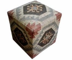 Kilim Storage Wooden Box