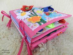 "Quiet book. Розвиваюча книжечка ""Пори року"" - YouTube #video #quietbook #libridistoffa"