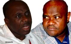 THE Supervising Minister of Education, Chief Nyesom Wike, on Sunday dared the Rivers State Governor, Mr. Rotimi Amaechi, and his supporters to leave the Peoples Democratic Party for another political party.Wike said Amaechi and his supporters should go to another party if they believed they were po