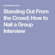 9 Best Group Interviews images in 2015 | Group interview