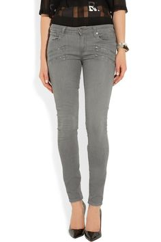 Paige | Edgemont Ultra mid-rise skinny jeans | NET-A-PORTER.COM