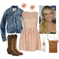 Outfits to wear with my new cowboy boots!