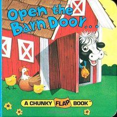 Open the Barn Door (A Chunky Book(R)) #RandomHouseBooksforYoungReaders