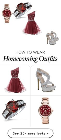 """""""going out to dinner"""" by lazira2004 on Polyvore featuring Michael Kors and Bling Jewelry"""