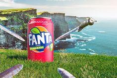 Fanta sabor Fresa-kiwi Carbonated Drinks, Kiwi, Beverages, Canning, Fruit, Direct Marketing, Game Of Thrones, Strawberry Fruit, Home Canning