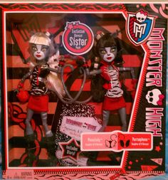 Pinterest Purrsephone & Meowlody Basic Wave 3 Mattel Monster High doll. http://www.monsterhighcollector.com/viewstory.php?sid=82