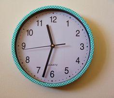 Create Hope Inspire: DIY Washi Clock