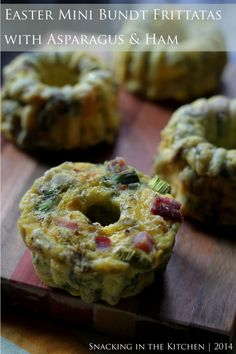 If you are celebrating Easter, I'm wishing you a Happy one! While Easter is not in my holiday rotation, I did want to share this recipe for Easter Mini Bundt Pan Frittatas that will be ideal… Breakfast Bundt Cake, Bundt Cake Pan, Bunt Cakes, Easter Recipes, Appetizer Recipes, Appetizers, Easter Ideas, Holiday Recipes, Mini Cupcake Pan