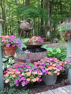 Planted Water Feature