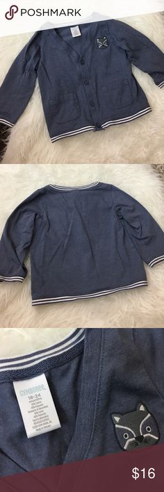 Gymboree Sweat Shirt Button Down Gymboree Sweat Shirt Button Down -  Gently used. In great condition. No rips, stains, or tears. - I ❤️ OFFERS! Gymboree Shirts & Tops Button Down Shirts