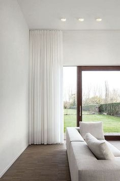 The Cool Curtains From Ceiling To Floor Decorating with Smart Lighting Family Supermodular Living Room Lighting 11274 above is one of pictures of home deco Curtains Living, House Design, Floor To Ceiling Curtains, Home, Ceiling Curtains, Curtains Living Room, Curtains With Blinds, Home Curtains, Interior Design Secrets