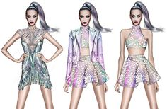 Roberto Cavalli Designs Costumes for Katy Perry