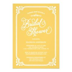 Vintage Country | Bridal Shower Invitation
