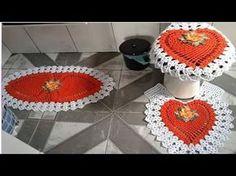Nº2 -JUEGO DE BAÑOS TEJIDOS A CROCHET - YouTube Crochet Home, Bathroom Sets, Diy Projects To Try, Crochet Doilies, Pony, Crochet Necklace, Crochet Patterns, Sewing, Knitting