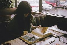 my life =studying in coffee shops