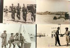 MILITARES. SAHARA ESPAÑOL. VILLA CISNEROS. LOTE DE 36 FOTOS SOLDADO SERVICIO MILITAR. HACIA 1960. - Foto 3