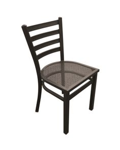Metal Mesh Armless Outdoor Chair | National Business Furniture