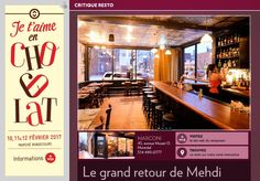 Le grand retour de Mehdi - La Presse+ Le Site, Site Web, Mozart, Critique, Restaurants, Broadway Shows, Gourmet, Interactive Map, Diners