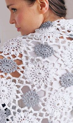Платок крючком crochet motif shawl or wrap free pattern