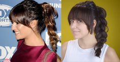 Check out this hairstyle tutorial that is perfect for the gym.