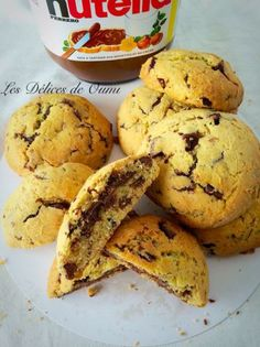 Mes cookies au cœur Nutella