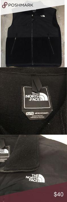North Face Fleece Zip Vest XL Black Men's North Face fleece zip up black. XL. Polartec technology. North Face Jackets & Coats Vests