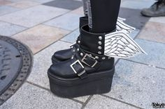 Glad News Winged Platform Boots