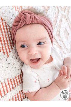 new born headband Top knot  headband baby headband