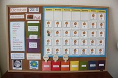 Activity of the Week – Montessori-Inspired Months and Seasons Work