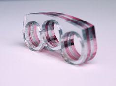 knuckleduster 3 finger ring