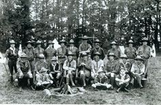 First Wood Badge Course in 1919