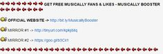 Musically Hack - Get Unlimited Musically Likes and Fans. Musically Crown Hack sur le forum Run and Dodge Football - 28-07-2017 00:26:06 - jeuxvideo.com