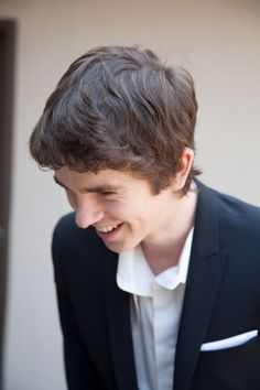 Freddie Highmore's LATF photo shoot by Jeff Carrillo