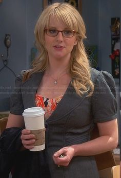 Bernadette's grey short sleeved blazer on The Big Bang Theory. Outfit Details: http://wornontv.net/23866/ #TheBigBangTheory