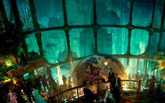 "BioShock Concept Art - ""Perhaps the best Art Deco futuristic urban vision ever created."" Gorgeous indeed!"