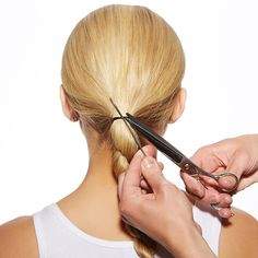 The Easiest Airport Hairstyle – Ever | The Zoe Report