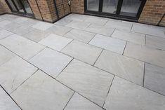Garden Slabs, Patio Slabs, Garden Floor, Patio Flooring, Terrace Garden, Grey Paving, Granite Paving, Indian Sandstone Paving Slabs, Sandstone Cladding