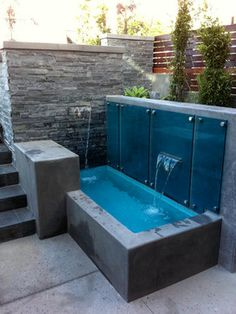 Outdoors Discover Snyder House: Hermosa Beach CA Small Swimming Pools Small Backyard Pools Small Pools Backyard Patio Jacuzzi Outdoor Outdoor Spa Pool Water Features Water Features In The Garden Mini Pool Hot Tub Backyard, Small Backyard Pools, Backyard Pool Designs, Small Pools, Swimming Pool Designs, Backyard Patio, Jacuzzi Outdoor, Outdoor Spa, Pool Water Features