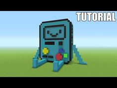 """http://minecraftstream.com/minecraft-tutorials/minecraft-tutorial-how-to-make-a-b-m-o-adventure-time-survival-house/ - Minecraft Tutorial: How To Make A B.M.O """"Adventure Time"""" !! (Survival House)  In this episode of """"Awesome Minecraft Survival House"""" I will be show you guys how to build my newest house  It is themed after a BMO House from Adventure Time!  If you want to see a Tutorial / How To be sure to leave a like  Subscribe To My Vlogging Channel &#82"""