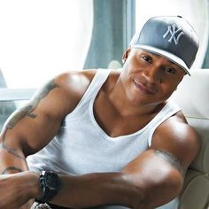 LL Cool J..... always!!!I'm sucker for dimples and great lips! Aye
