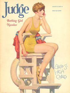 Judge Magazine 1927 #summer #fashion #vintage