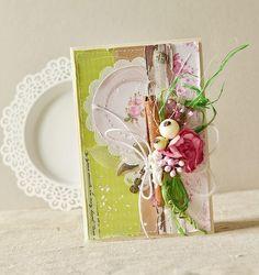 Доброго дня всем, кто еще здесь!:) Вот, соскучилась...   Решила показать пару открыточек...