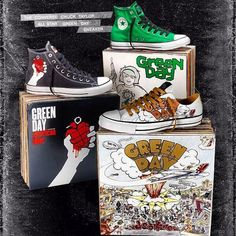 Converse - Green Day Collection