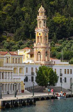 Panormitis Monastery - Symi, Greece
