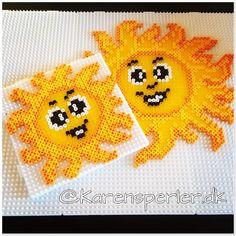 Making a little #sunshine Aftenens semifinale udnyttes til lidt solskinsperler. #Snartferie 💛☀️💛 #solskin #sol #sun #summer #sommer #perler… Perler Bead Designs, Melty Bead Designs, Easy Perler Bead Patterns, 3d Perler Bead, Perler Bead Templates, Hama Beads Design, Pony Bead Crafts, Peler Beads, Cross Stitch Tree