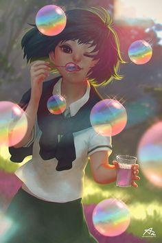 Anime Art by Webang111